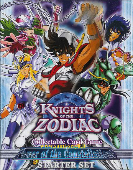 Knights of the Zodiac Cards Ccgdec10
