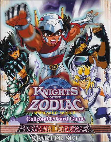 Knights of the Zodiac Cards Ccgdec11