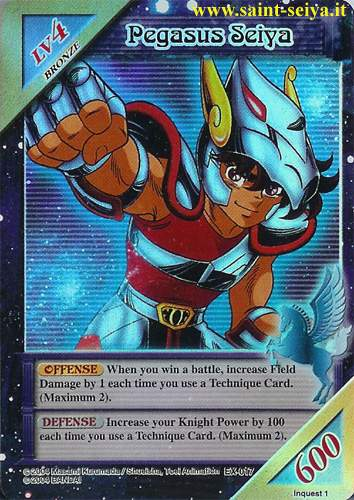 Knights of the Zodiac Cards Ccgex010