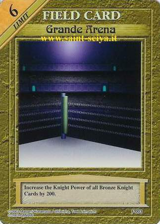 Knights of the Zodiac Cards Ccgf0013