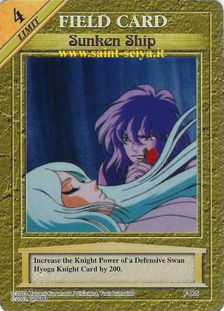 Knights of the Zodiac Cards Ccgf0015