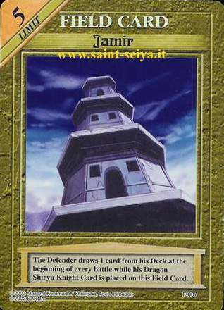 Knights of the Zodiac Cards Ccgf0017