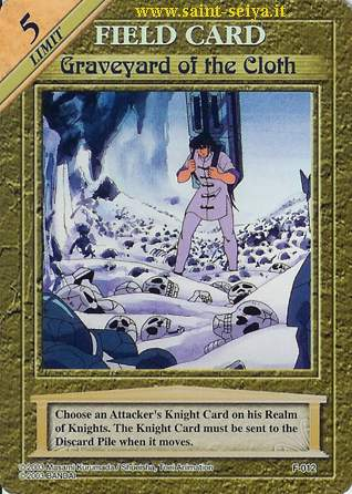 Knights of the Zodiac Cards Ccgf0112
