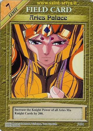 Knights of the Zodiac Cards Ccgf0114
