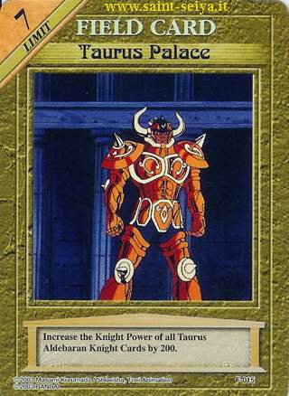 Knights of the Zodiac Cards Ccgf0115