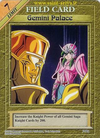 Knights of the Zodiac Cards Ccgf0116