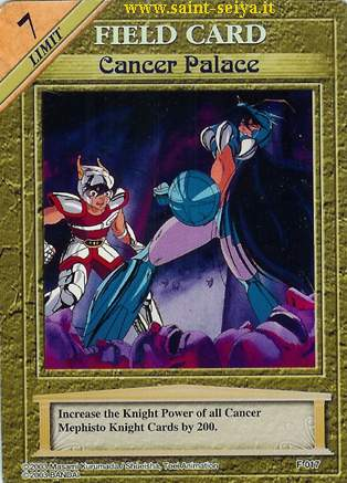 Knights of the Zodiac Cards Ccgf0117