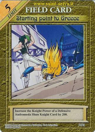Knights of the Zodiac Cards Ccgf0119