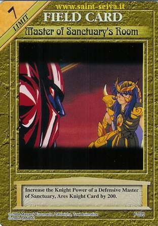Knights of the Zodiac Cards Ccgf0210