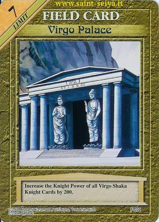 Knights of the Zodiac Cards Ccgf0211
