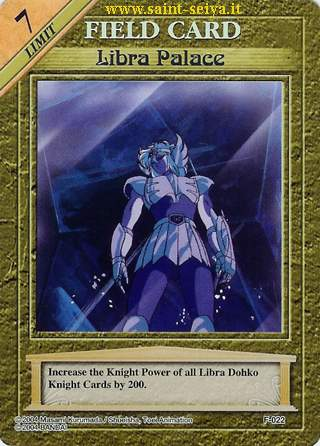 Knights of the Zodiac Cards Ccgf0212
