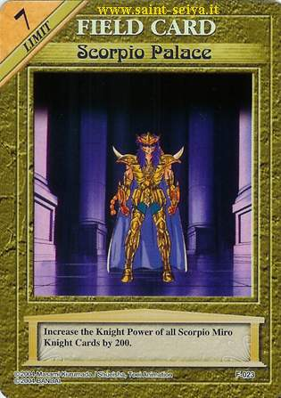 Knights of the Zodiac Cards Ccgf0213