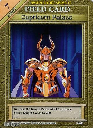 Knights of the Zodiac Cards Ccgf0215