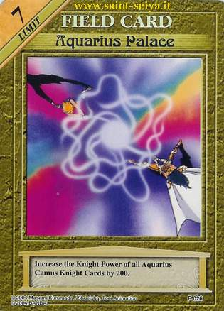 Knights of the Zodiac Cards Ccgf0216