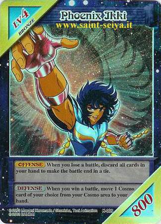 Knights of the Zodiac Cards Ccgk0014