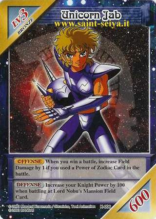 Knights of the Zodiac Cards Ccgk0015