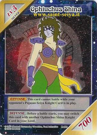 Knights of the Zodiac Cards Ccgk0018