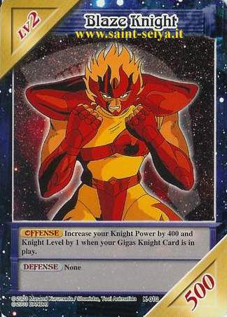 Knights of the Zodiac Cards Ccgk0110