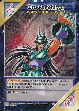 Knights of the Zodiac Cards Ccgk0210