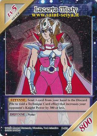 Knights of the Zodiac Cards Ccgk0219