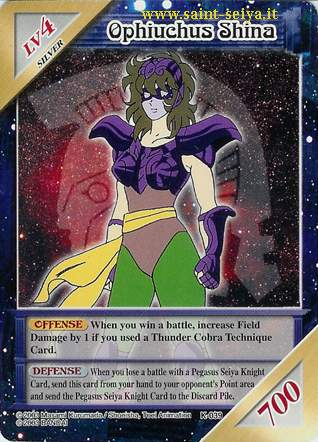 Knights of the Zodiac Cards Ccgk0318