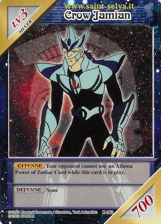 Knights of the Zodiac Cards Ccgk0412