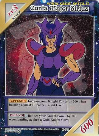 Knights of the Zodiac Cards Ccgk0415