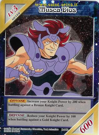 Knights of the Zodiac Cards Ccgk0416