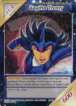 Knights of the Zodiac Cards Ccgk0418