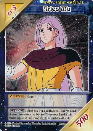 Knights of the Zodiac Cards Ccgk0510