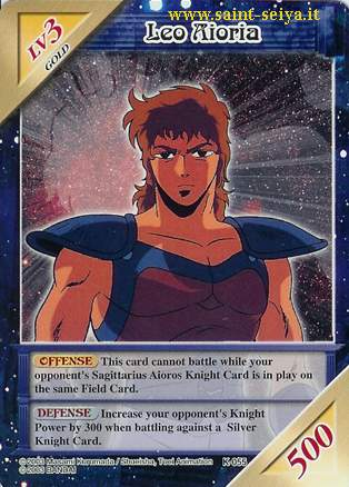 Knights of the Zodiac Cards Ccgk0513