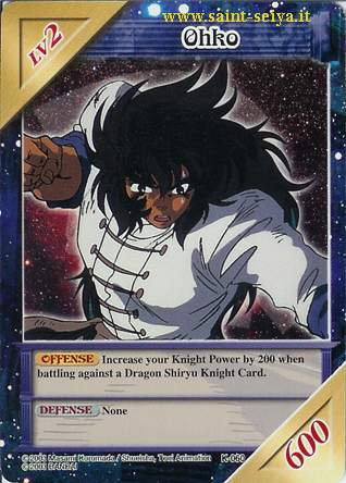 Knights of the Zodiac Cards Ccgk0610