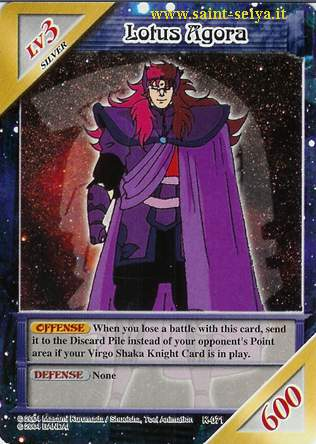 Knights of the Zodiac Cards Ccgk0711