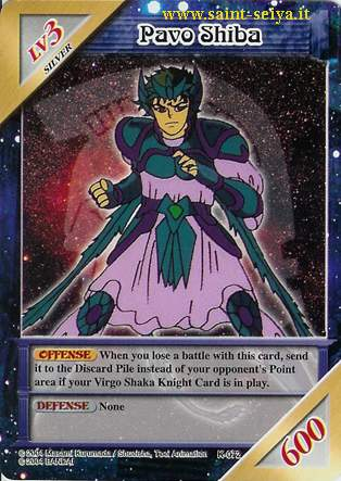 Knights of the Zodiac Cards Ccgk0712