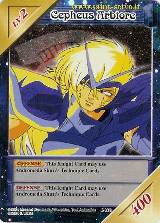 Knights of the Zodiac Cards Ccgk0713
