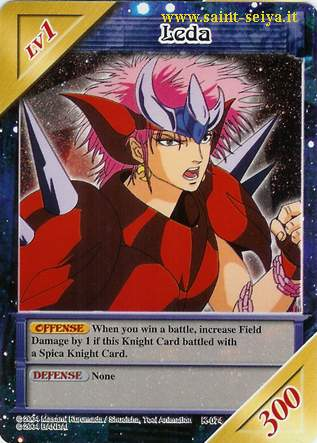 Knights of the Zodiac Cards Ccgk0714
