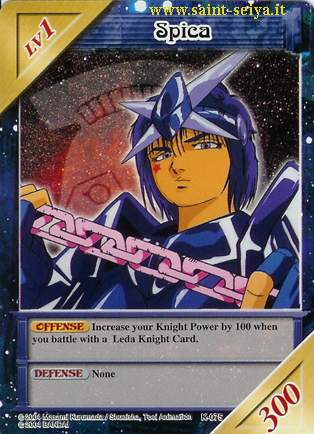Knights of the Zodiac Cards Ccgk0715