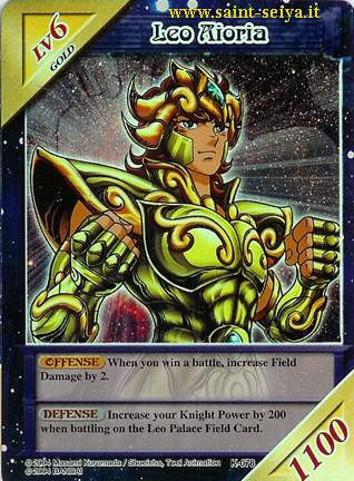 Knights of the Zodiac Cards Ccgk0717