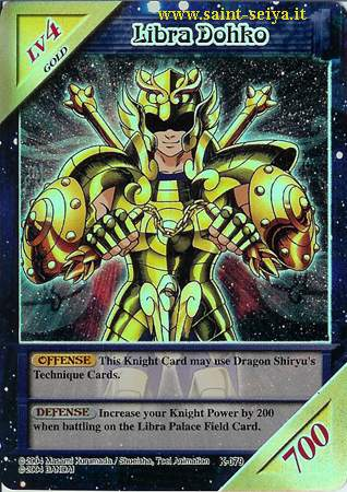 Knights of the Zodiac Cards Ccgk0718