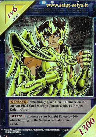 Knights of the Zodiac Cards Ccgk0811