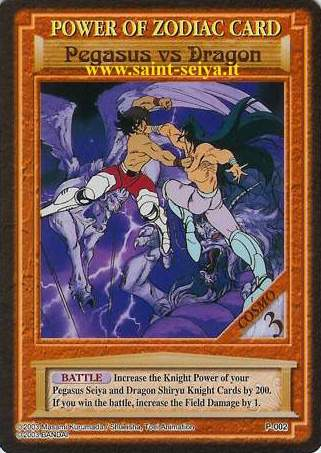 Knights of the Zodiac Cards Ccgp0012