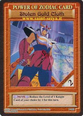 Knights of the Zodiac Cards Ccgp0013