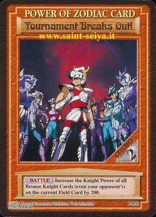 Knights of the Zodiac Cards Ccgp0016