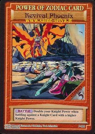 Knights of the Zodiac Cards Ccgp0019