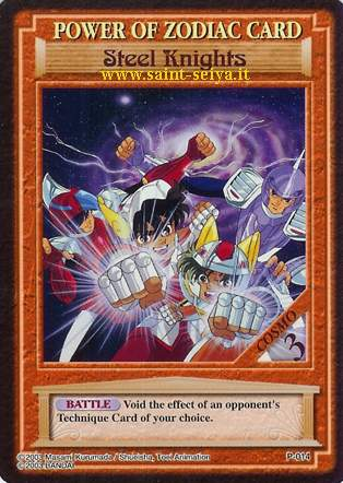 Knights of the Zodiac Cards Ccgp0114