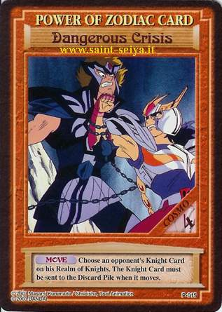Knights of the Zodiac Cards Ccgp0115