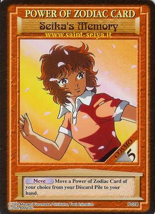 Knights of the Zodiac Cards Ccgp0118