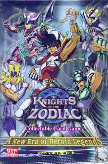 Knights of the Zodiac Cards Ccgpac10