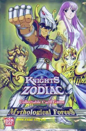 Knights of the Zodiac Cards Ccgpac11