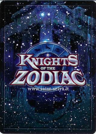 Knights of the Zodiac Cards Ccgret10